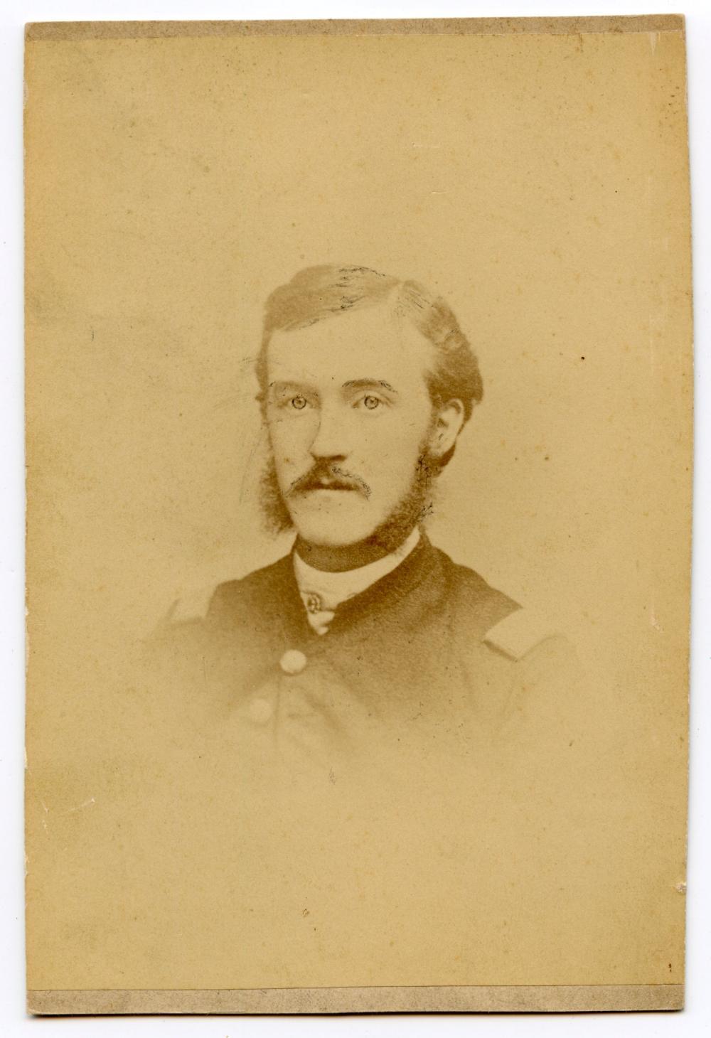 Civil War Albumen of Officer