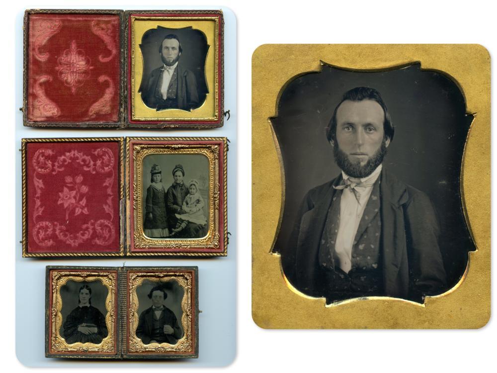 Three Portraits, One Fine Daguerreotype