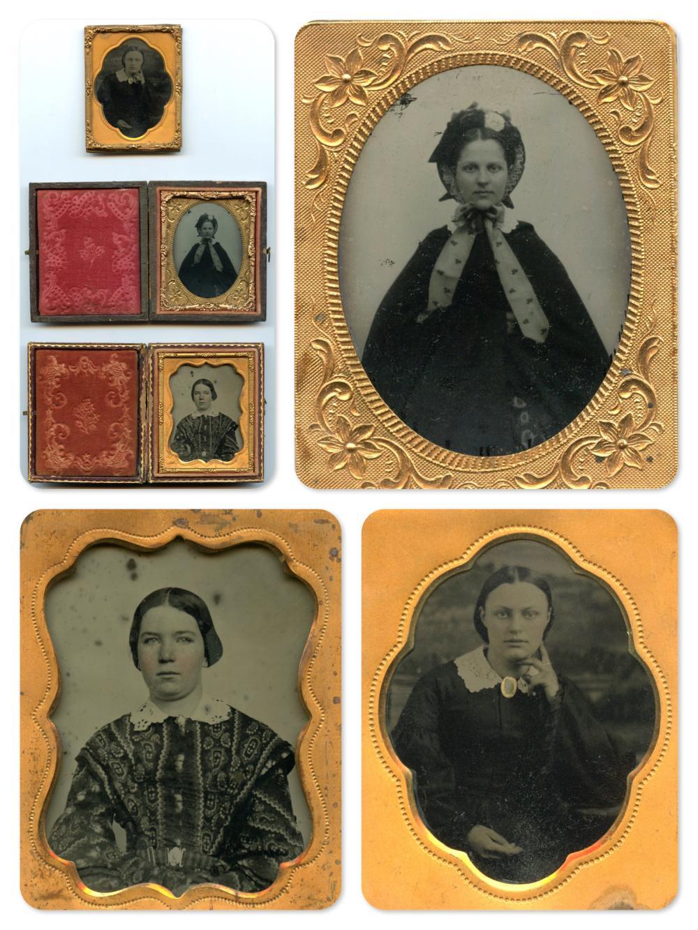 Three Ninth Plate Portraits, One Identified