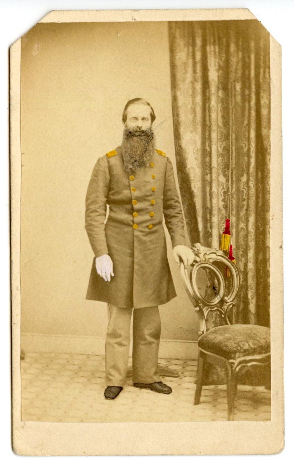 Civil War 47th Pennsylvania Colonel CDV