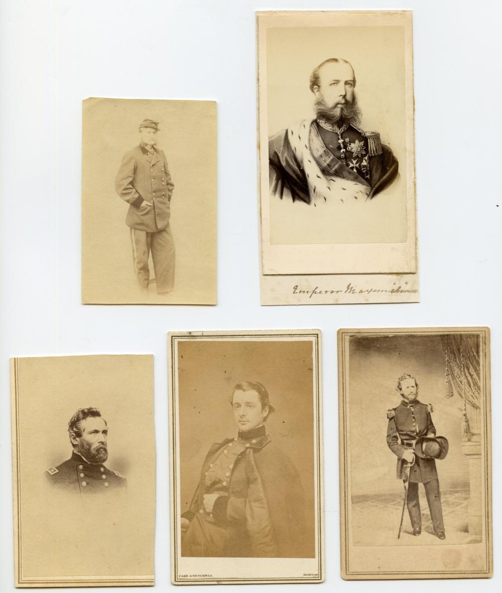 Civil War Generals CDV Group