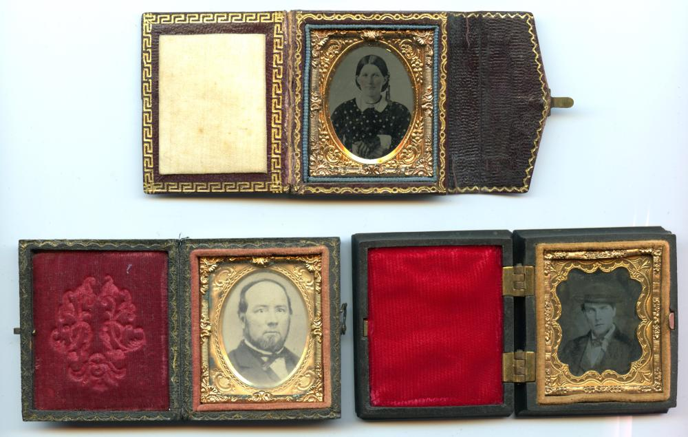 Group of Three Gem-Sized Images