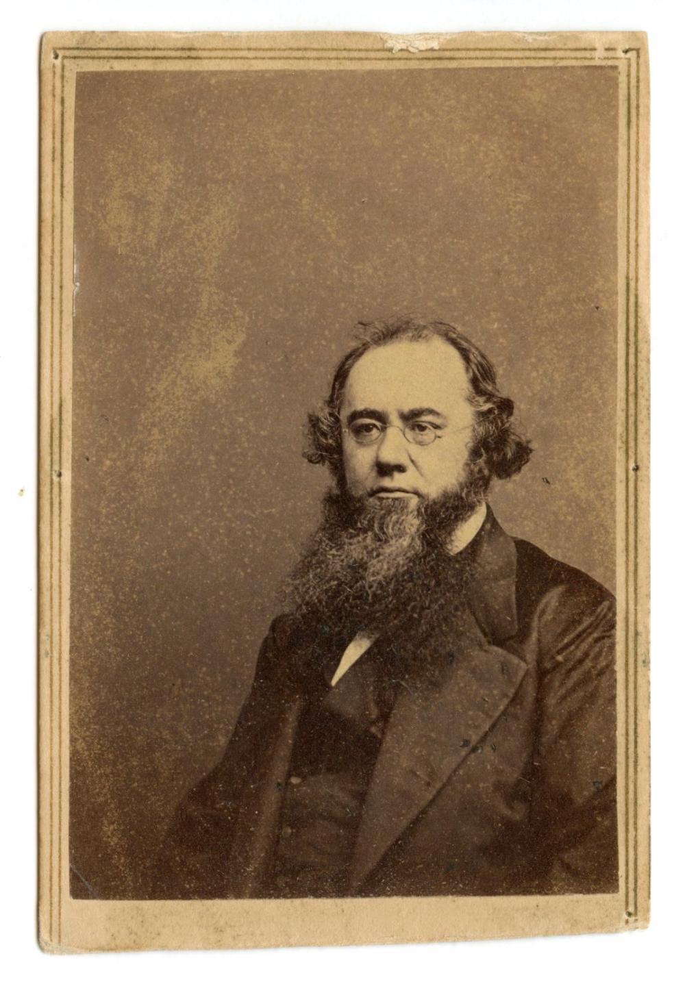 Civil War CDV of Secretary Edwin Stanton