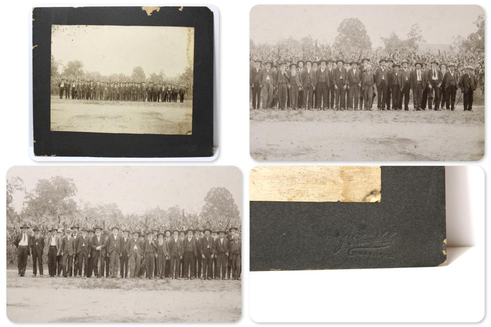 Civil War Confederate Orr's Rifle Reunion Photo
