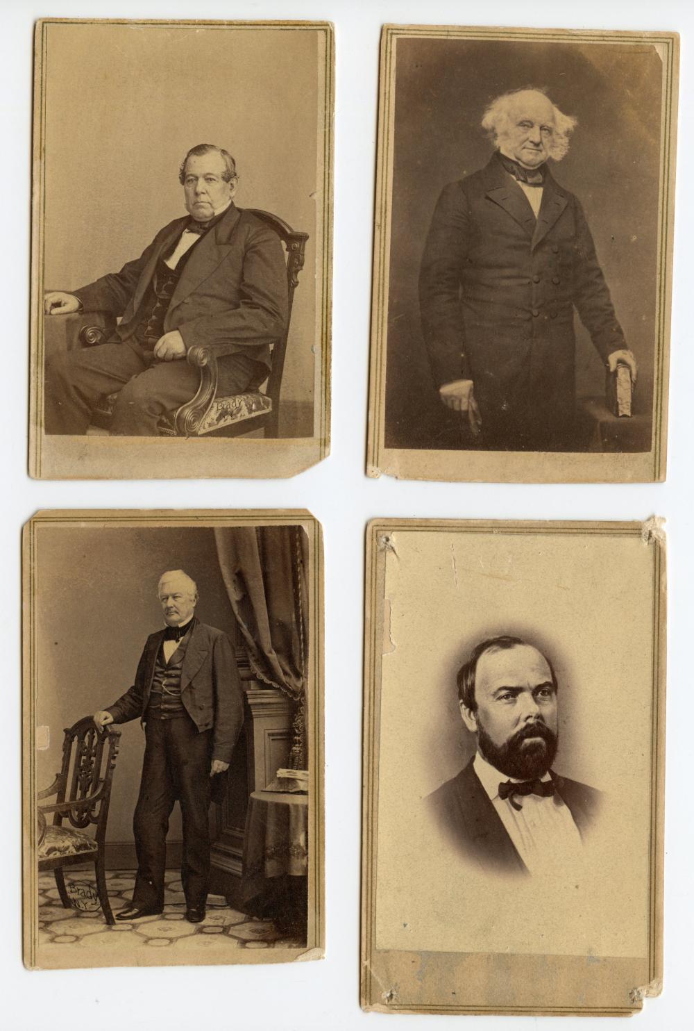 Civil War Era Leaders CDV Group