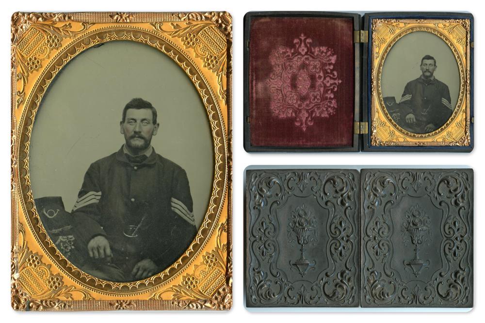 Crystal Clear 1/4 Plate Civil War NCO