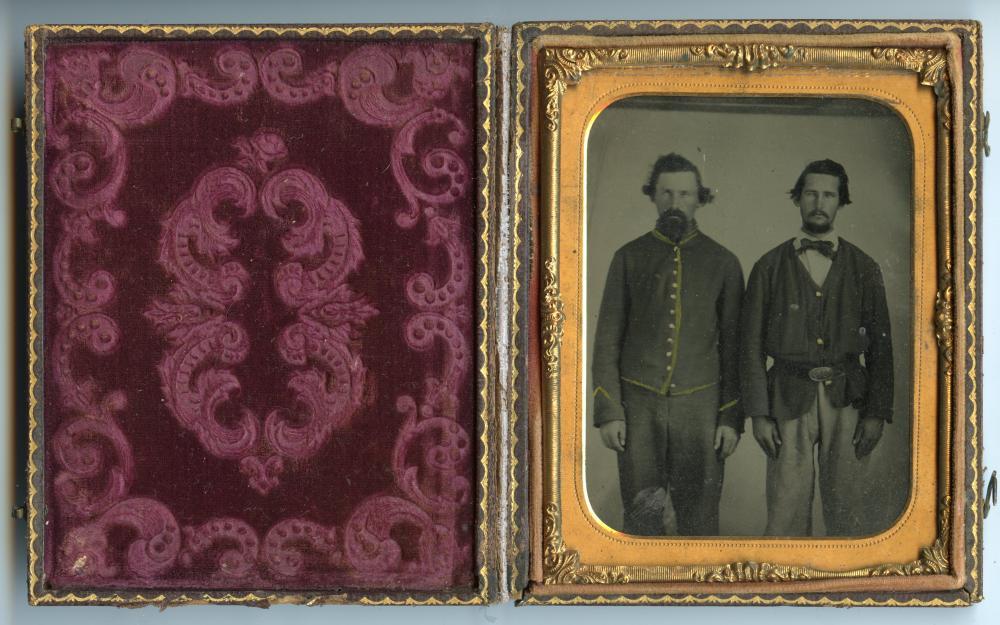 Wonderful 1/4 Plate Civil War Tintype