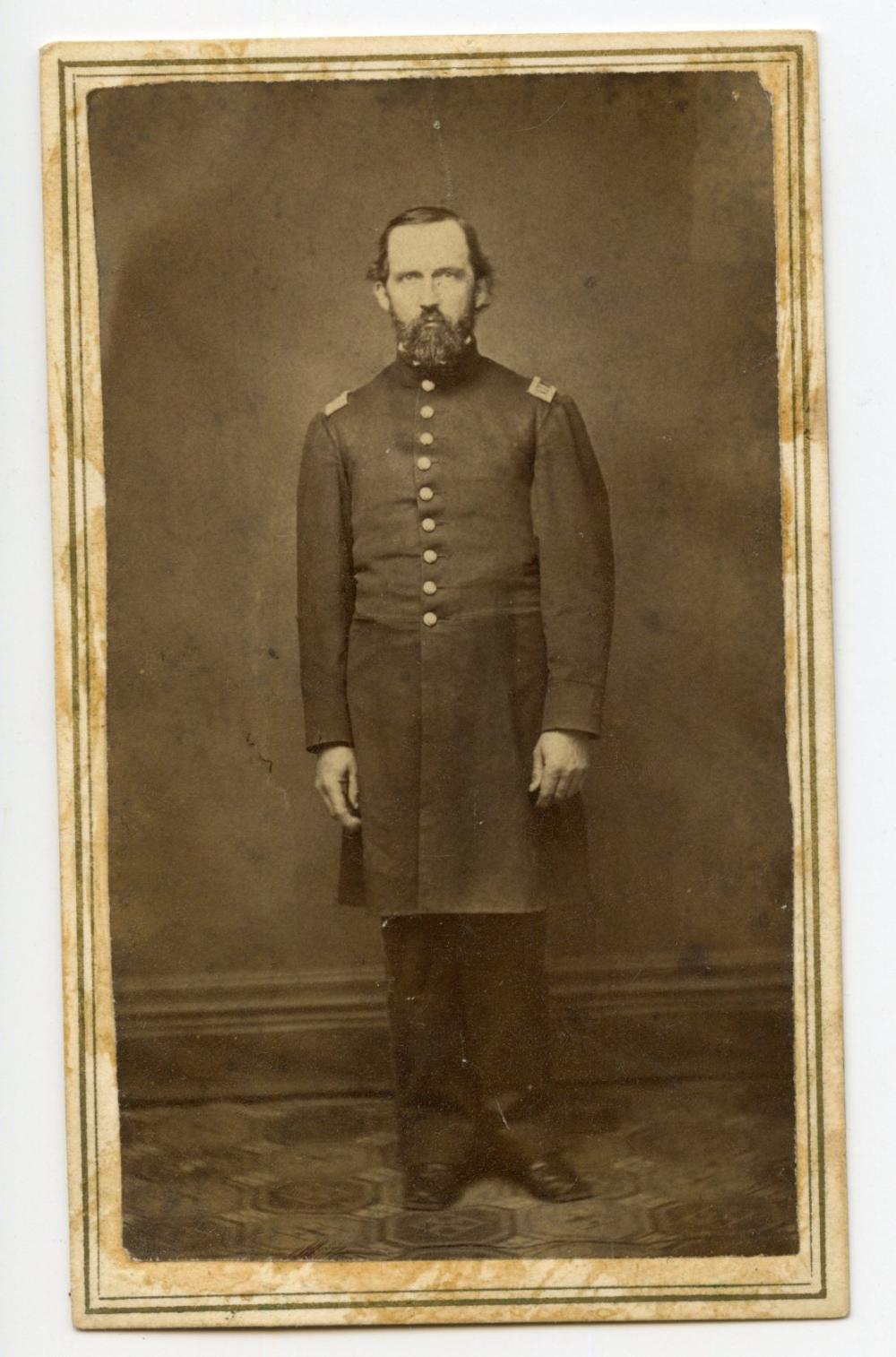 Civil War CDV Soldier