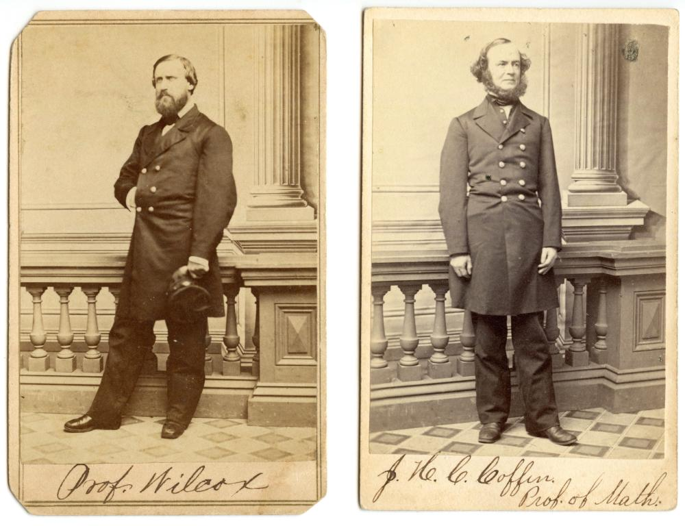Civil War CDV Naval Academy Professors (2)