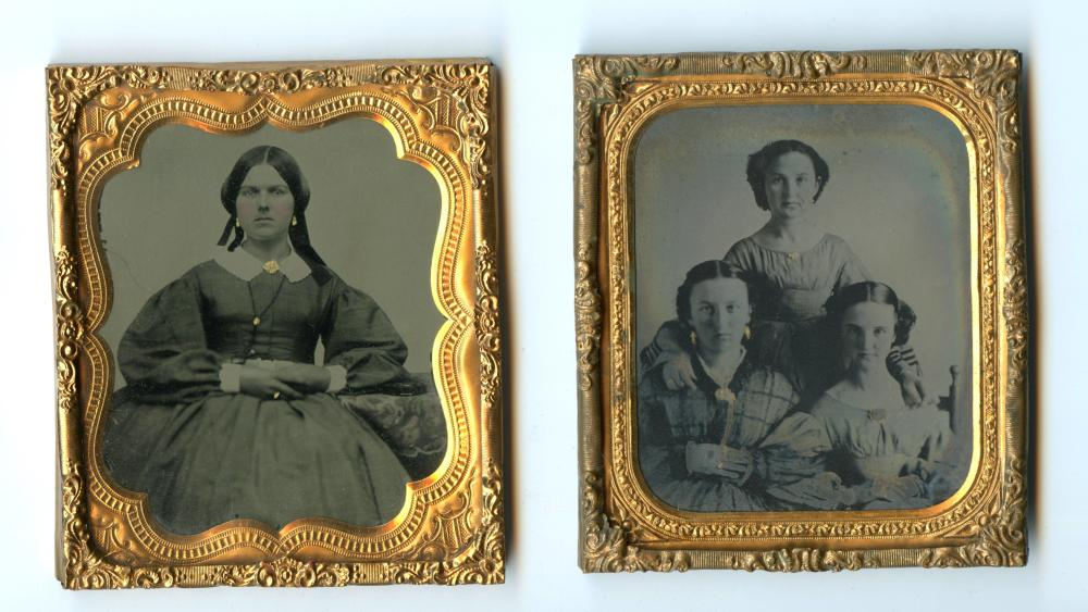 Two Nice Portraits of Young Women