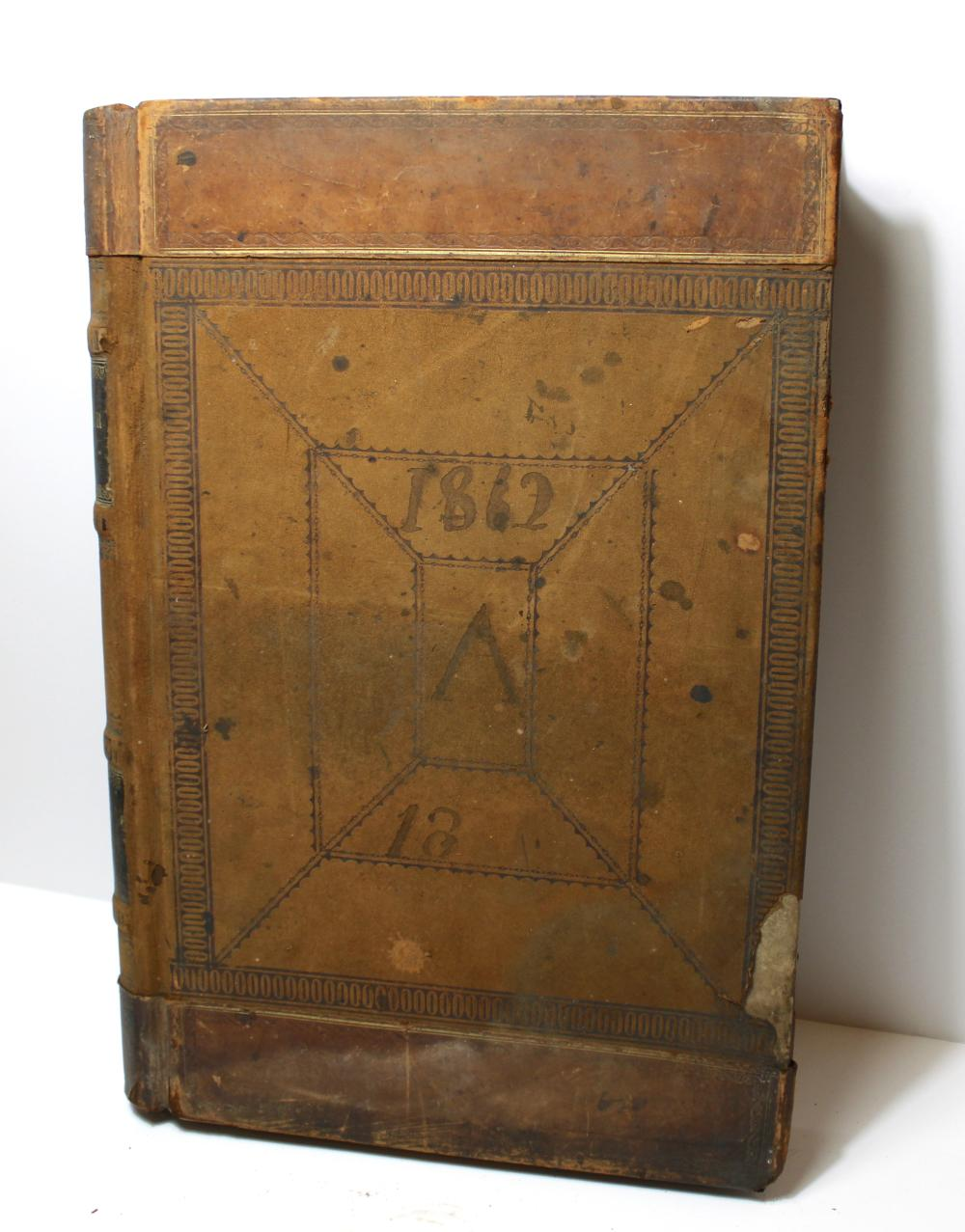 Tennessee Confederate Store Ledger- Incredible Record