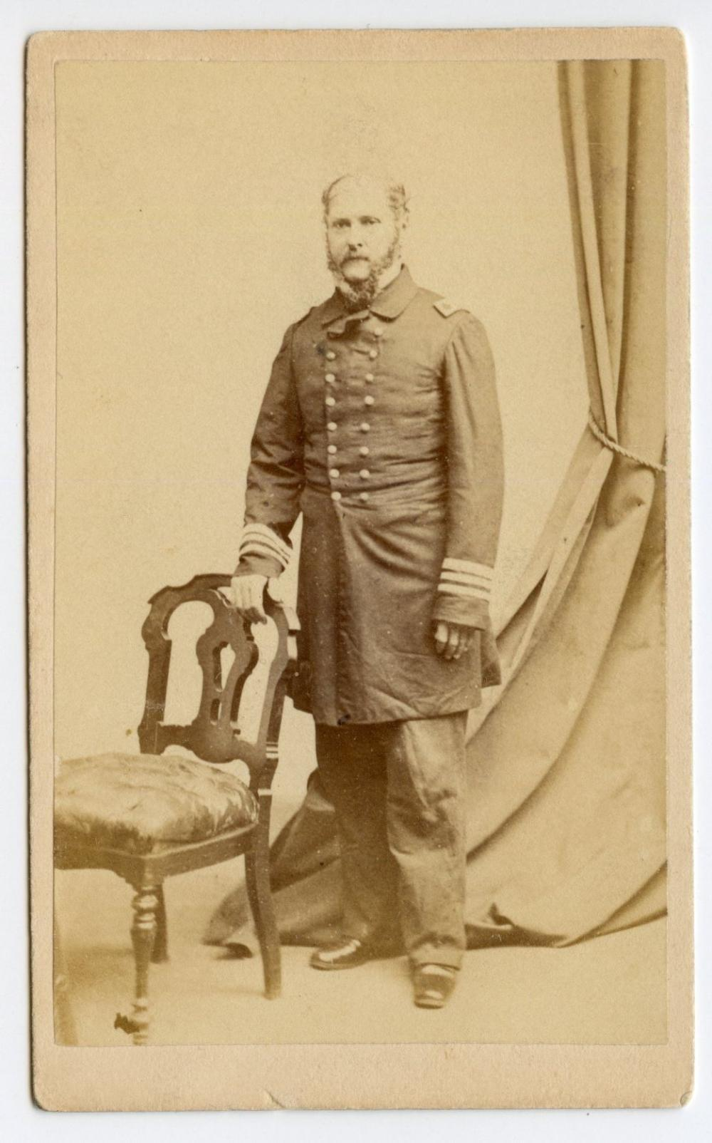Civil War CDV of Admiral John A. Winslow