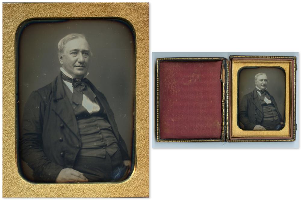 Exquisite Quarter Plate Daguerreotype of Gentleman