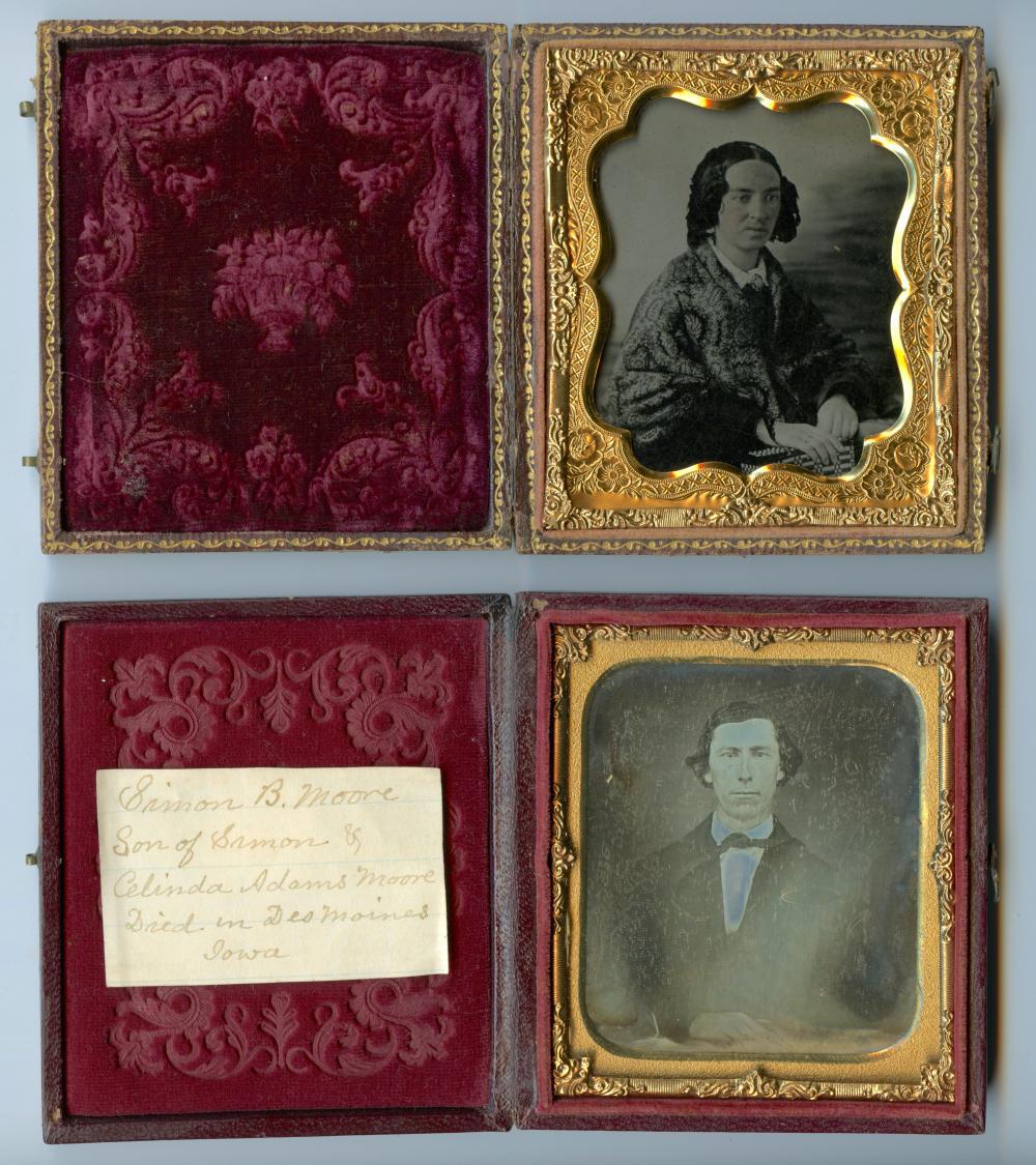 Sixth Plate Duo - Identified Daguerreotype