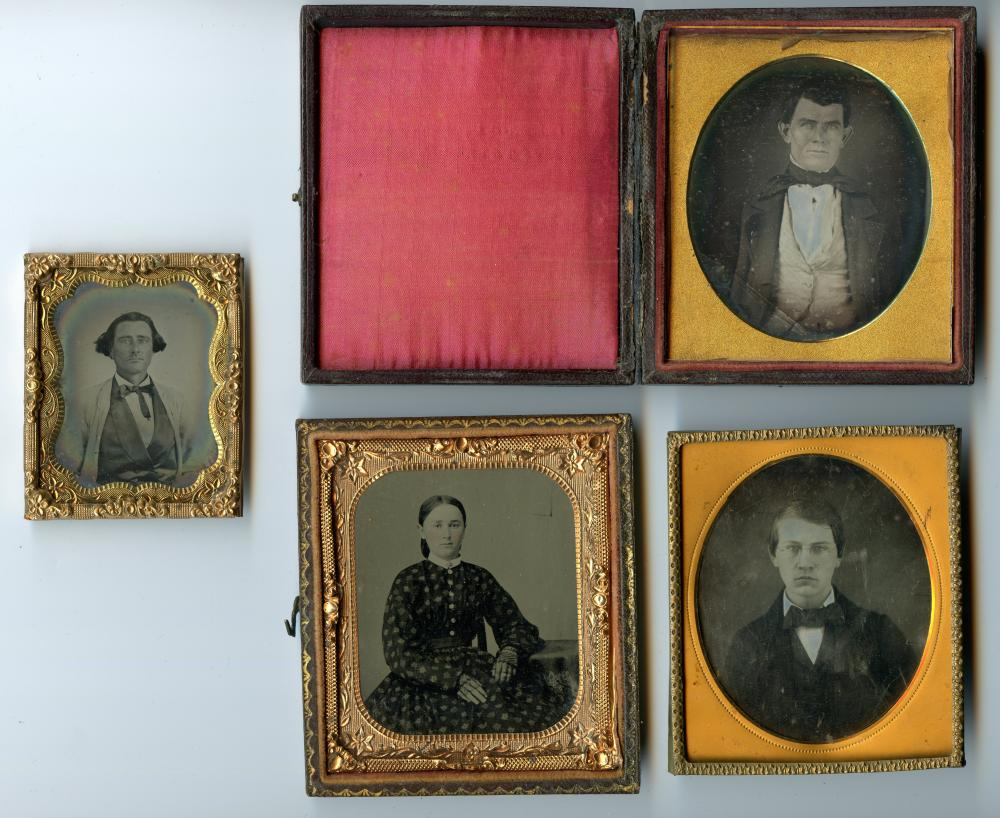 Group of Four, Three Sixth Plates and a Ninth Plate