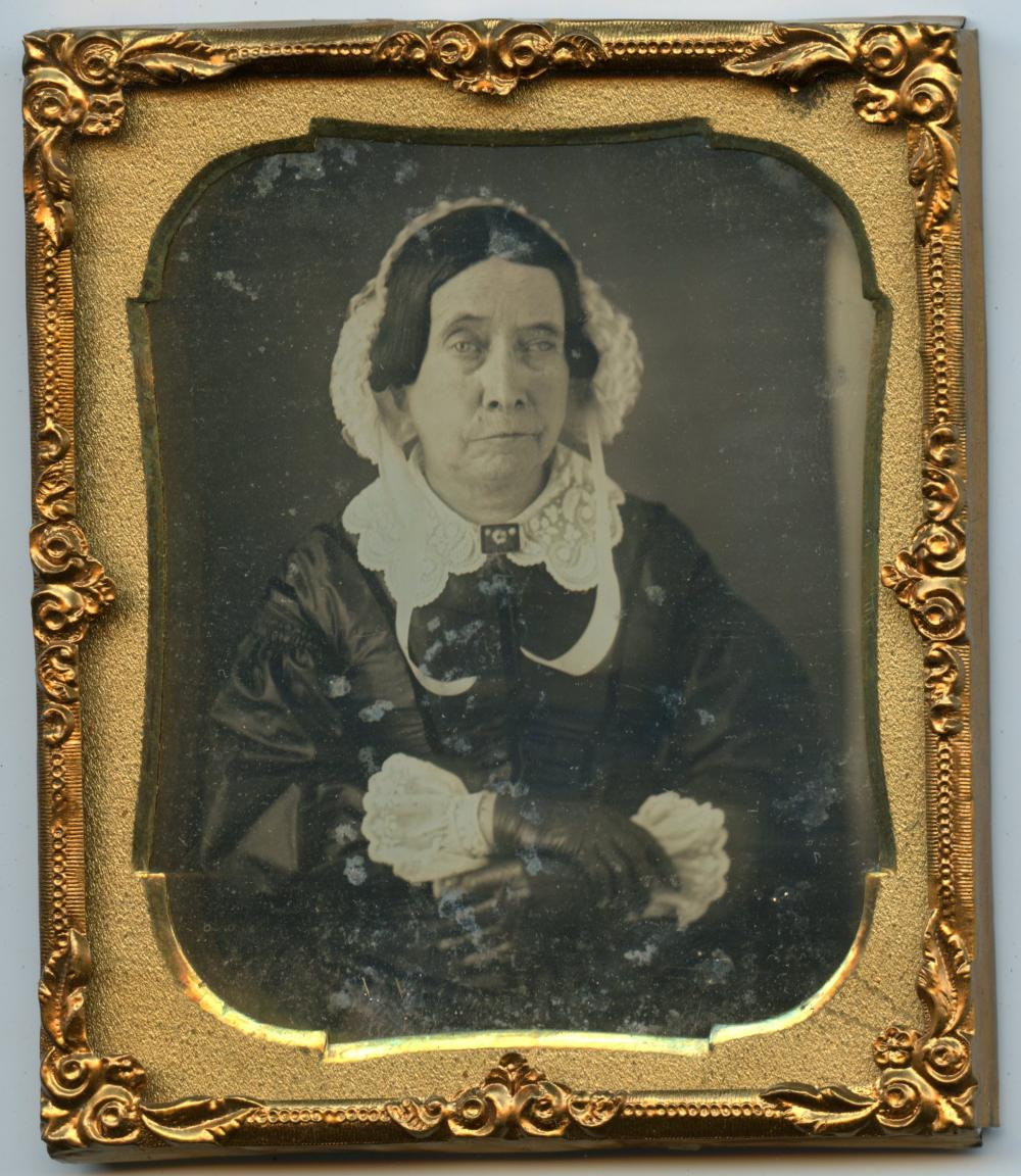 Sixth Plate Daguerreotype- Woman w/ Interesting Expression