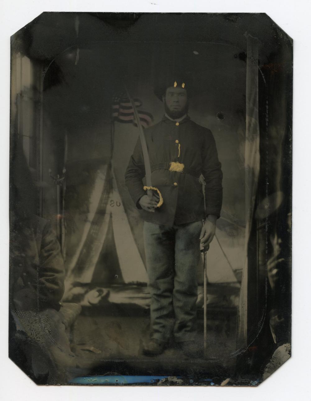 Civil War 1/4 Tintype Photo Bomb!