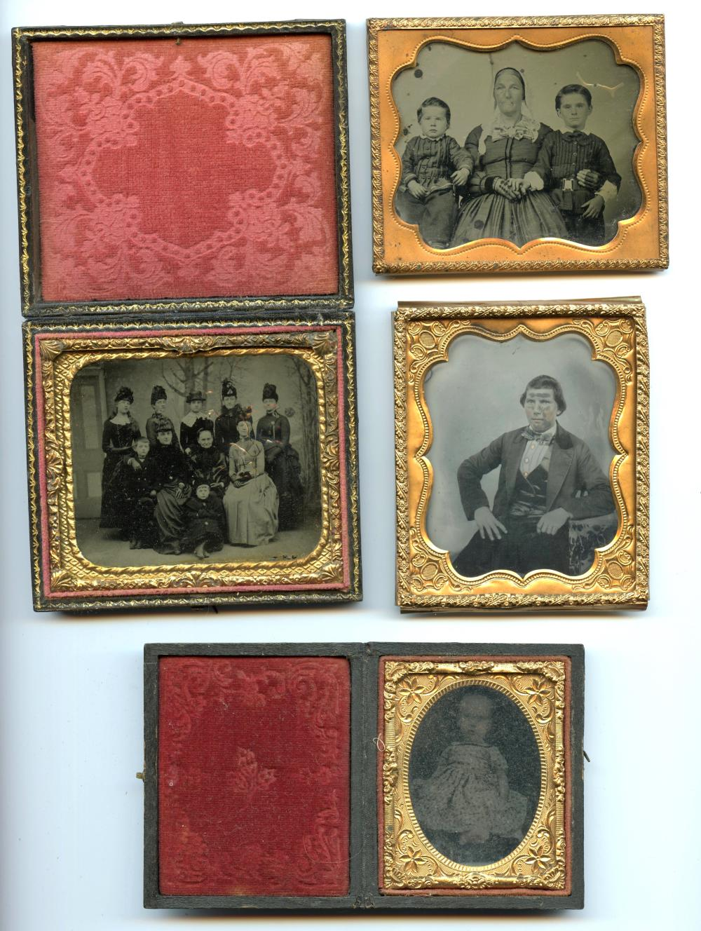 Four Images- Three Sixth Plates and a Ninth Plate