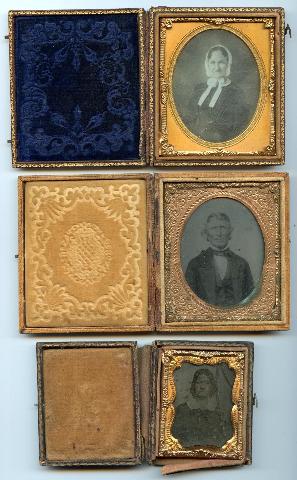 Lot of Three Portraits