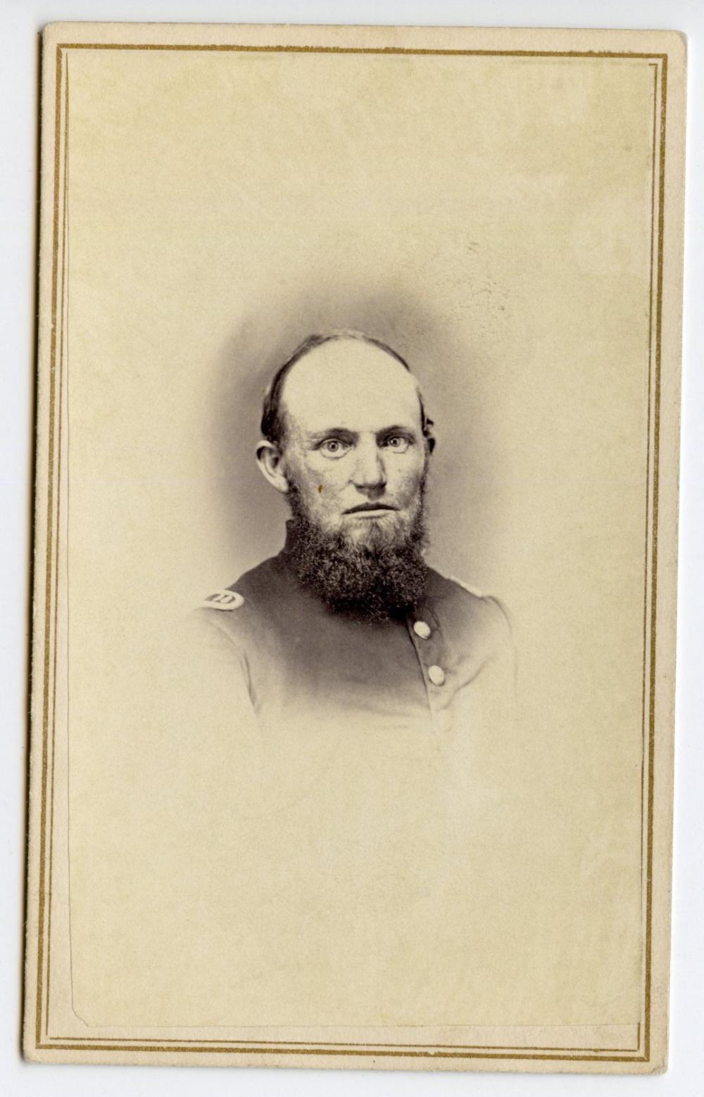 125th Illinois Identified Civil War CDV