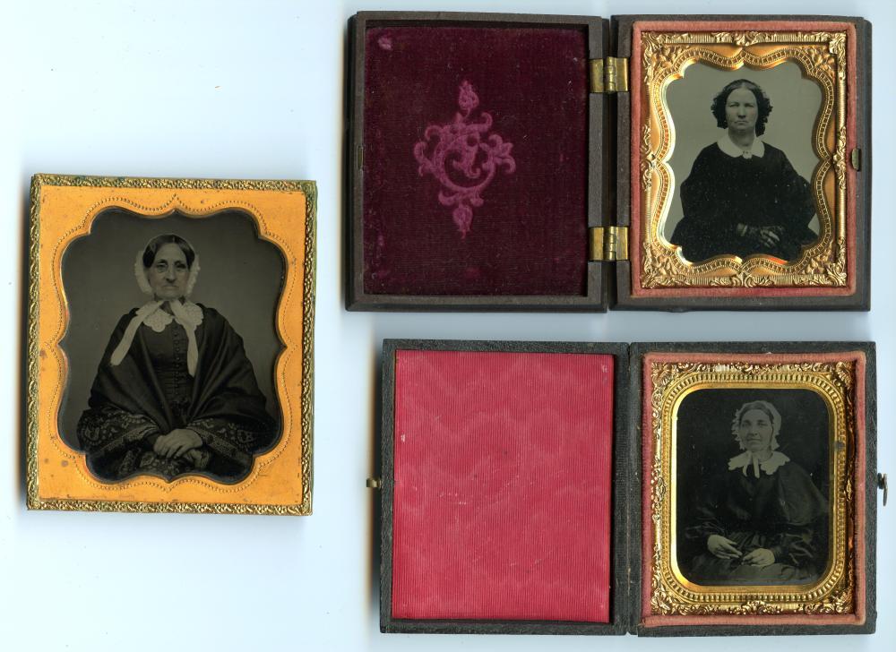Three Sharp Portraits of Women