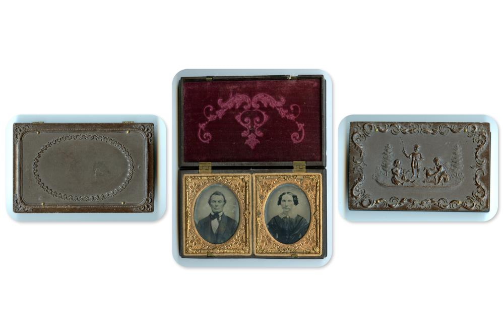 Double Ninth Plate Thermoplastic Case Housing Ambrotypes