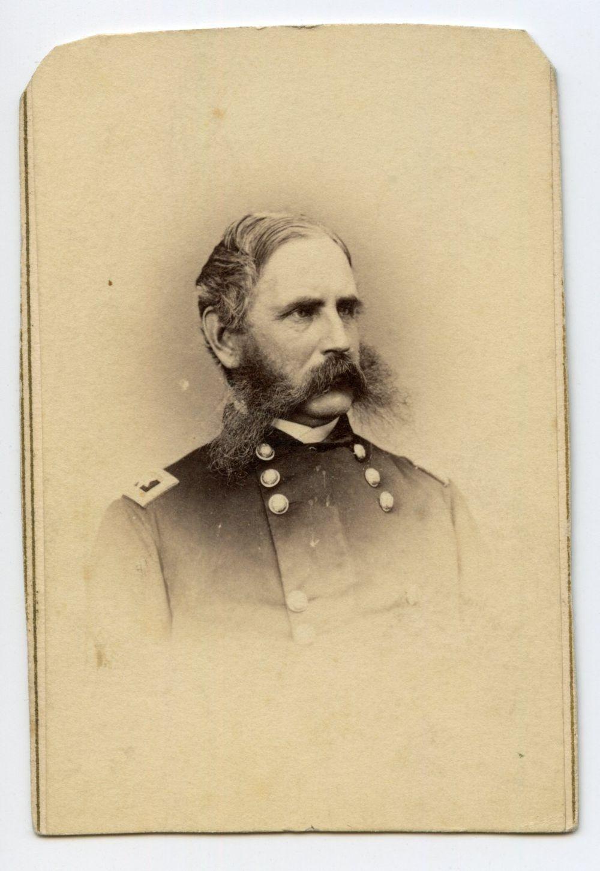 Civil War CDV of General CC Augur