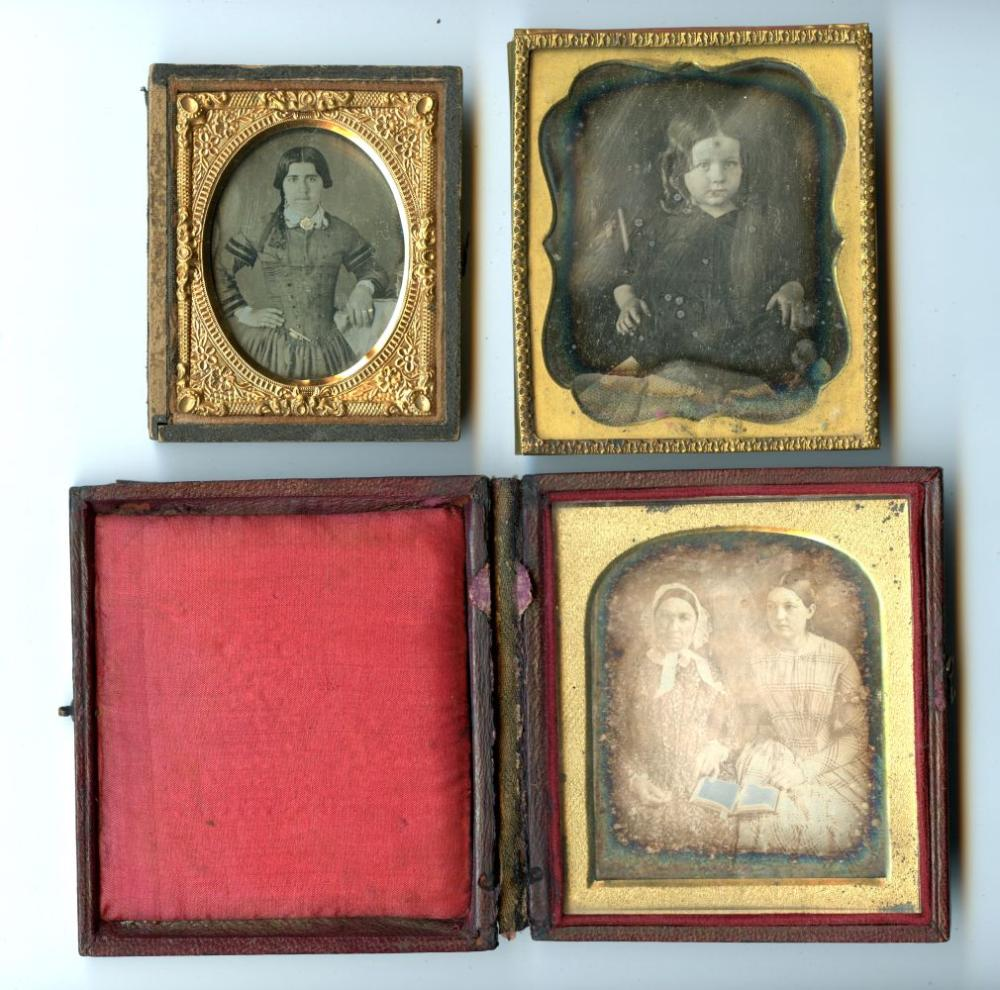 Three Daguerreotypes