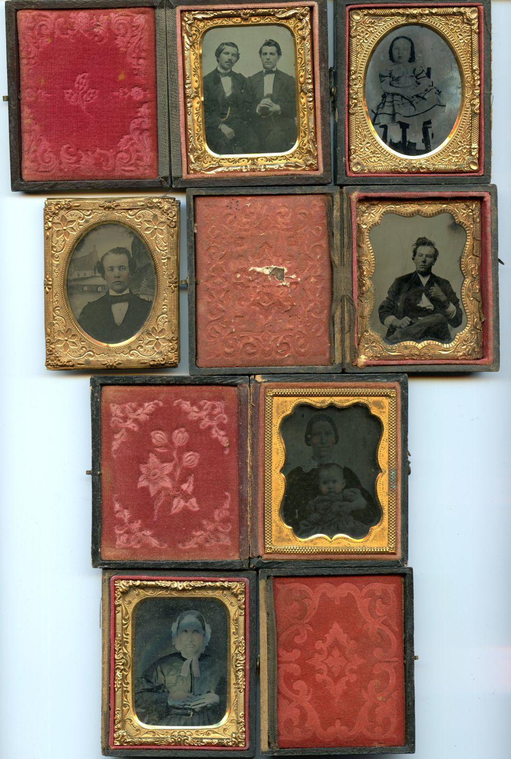 Six Ninth Plate Images