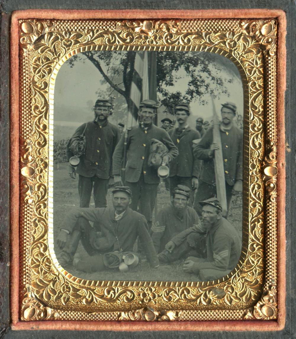 Incredible Civil War PA Tintype w/ Letters, Ephemera