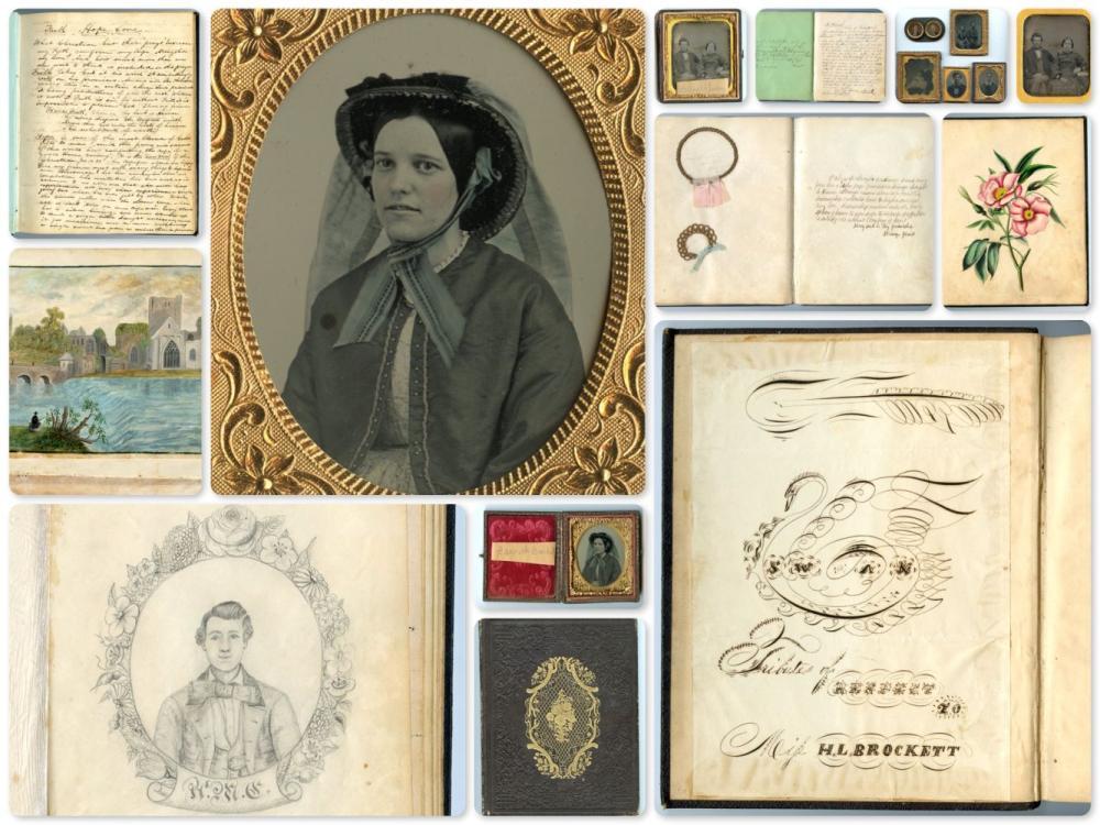 Fantastic Victorian Image, Ephemera Lot- Folk Art