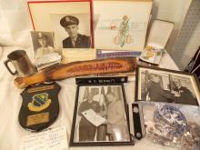 LOT ITEMS FROM COLONEL WE BENNETT USAF