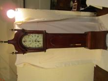 ANTIQUE MAHOGANY TALL CLOCK JOHN PICKETT