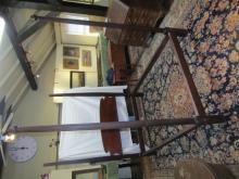 PERIOD 4 POST MAHOGANY BED