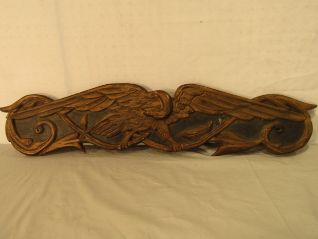 Antique Eagle Sternboard