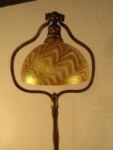 tiffany bronze floor lamp