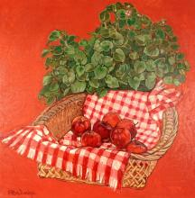 Loren Dunlap Still Life with Apples