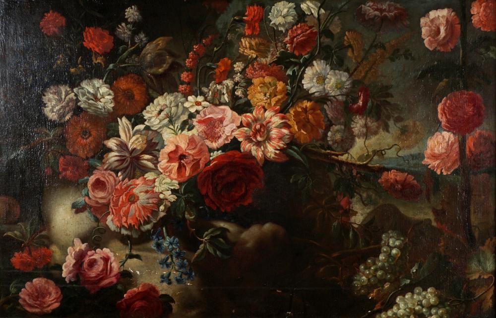 17th/18th C  Dutch Old Master Still Life Painting