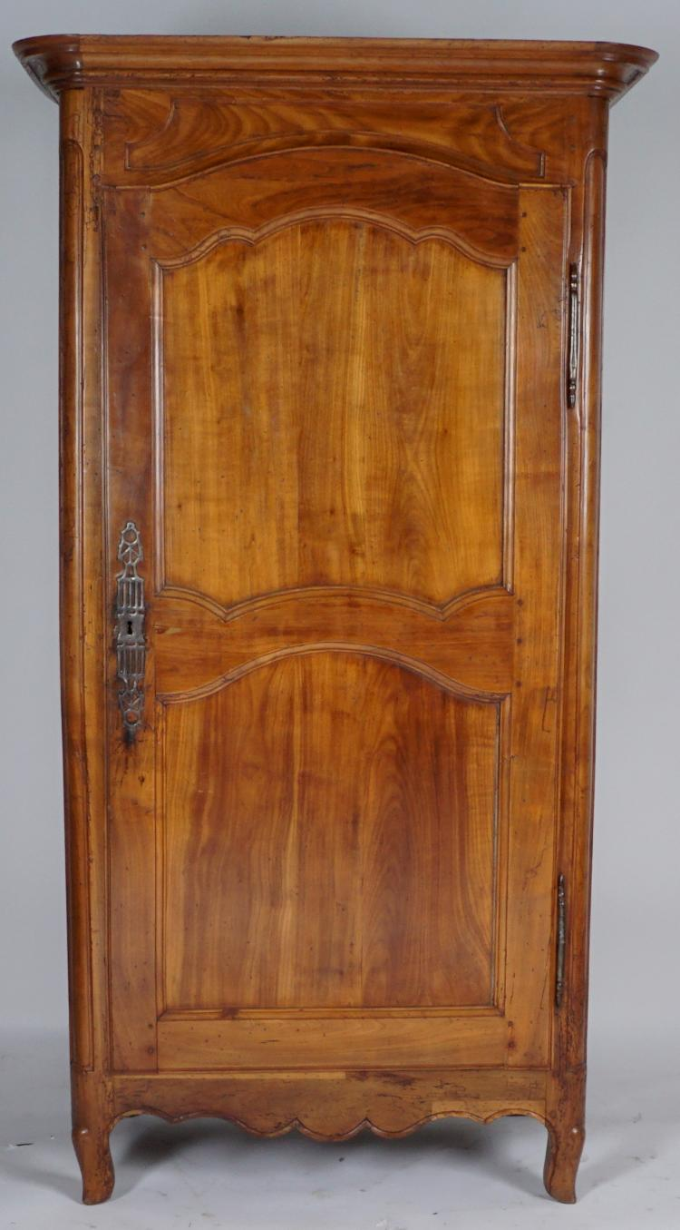 19th Century French Cherry Armoire