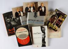 Collection of Seven Arthur Miller Signed Books