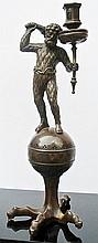 A German bronze sculpture of Hercules