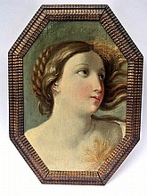 A beautiful painting in the manner of Guido Reni