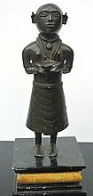 A South American bronze sculpture