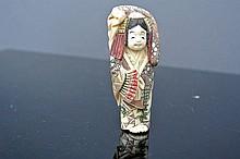 An ivory carved Netsuke