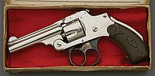 Smith & Wesson .32 Safety Hammerless Revolver