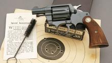 Exceptional Colt Detective Special Square Butt Revolver