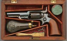 Wonderful Cased Colt Model 1855 Sidehammer Percussion Revolver