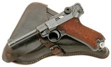 German P.08 Luger Code 42 Pistol by Mauser From Admiral Tully Shelley Collection