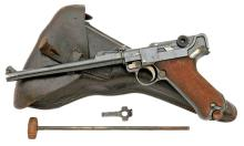 German LP.08 Artillery Luger Pistol by DWM From Admiral Tully Shelley Collection