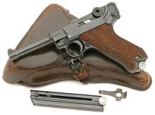 German P.08 Luger Code 42 Pistol by Mauser